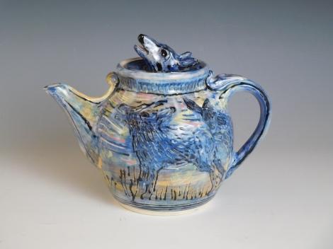 Coyote Teapot