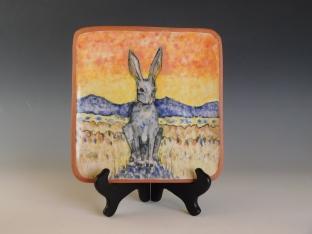 Jack Rabbit plate