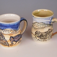 Cups: Ravens in the landscape