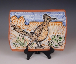 Plate: New Mexico Road Runner